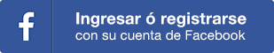 Ingresar o registrarse con Facebook